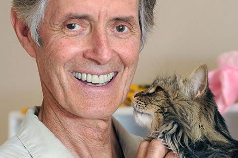 Gregory Castle, former CEO of Best Friends, and cat. Best Friends is continually working to build and support a successful animal coalition.